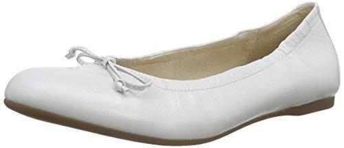 Gabor Shoes Damen Geschlossen Ballerinas Geschlossene Ballerinas, Gabor , Gr. 42 (UK: 8), Weiß (21 weiss)