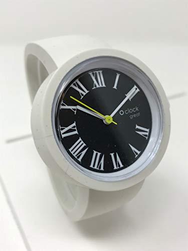O Bag O Great Römische Ziffern + weißes Armband (L)