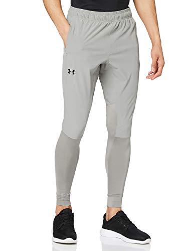 Under Armour Hybrid Pantaloni, Uomo, Verde, XL