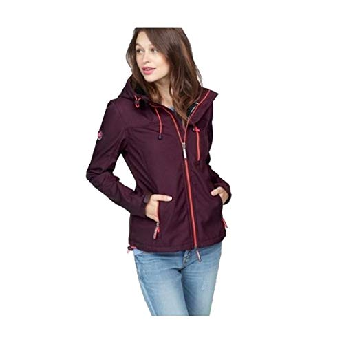 Superdry Damen Softshelljacke Jacke Windtrekker Hooded (XS)
