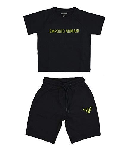 Emporio Armani Junior Tuta Sportiva con Logo Bambino Kids Boy MOD. 3H4VJ5 10A