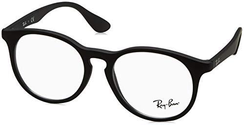 Ray-Ban Unisex-Kinder 0RY 1554 3615 48 Brillengestelle, Schwarz (Rubber Black)