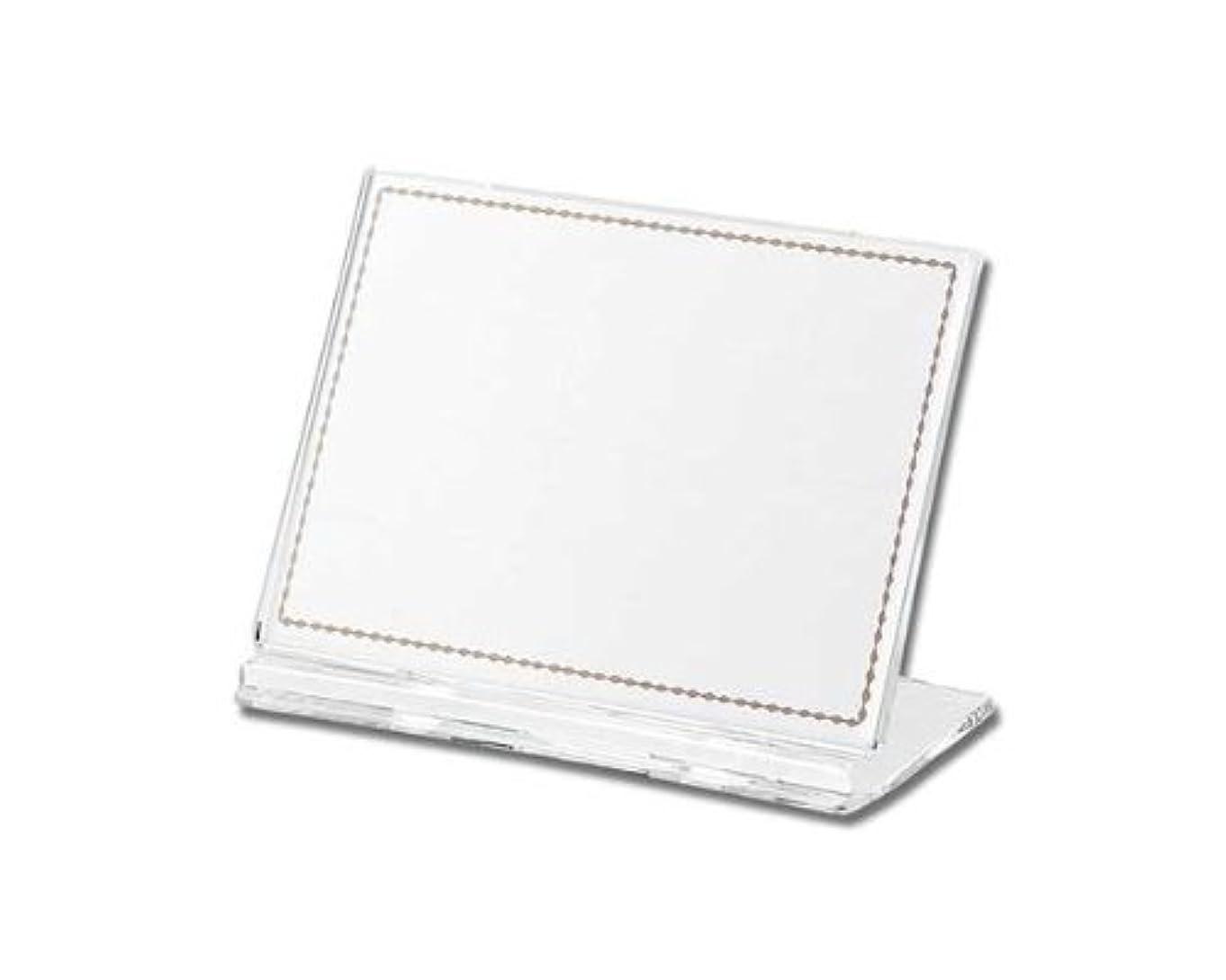 アイスクリームバルブ掃除光 カード立て 透明 UC1-1