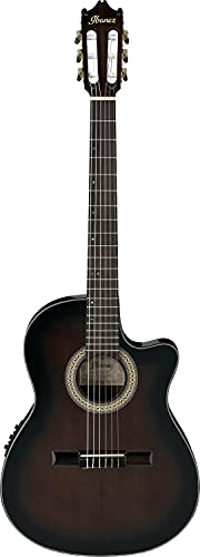 Ibanez GA35TCE-DVS Classical Electro Acoustic Guitar - Dark Violin Burst...