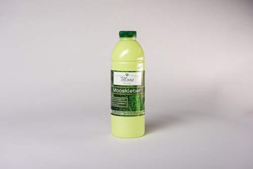 Mooskleber Moss-Glue (1L Flasche) Moosbilder Do-It-Yourself Mooskleber zum Moosbilder selber Machen günstig kaufen Osterdeko Pflanzenbilder Bastelkleber