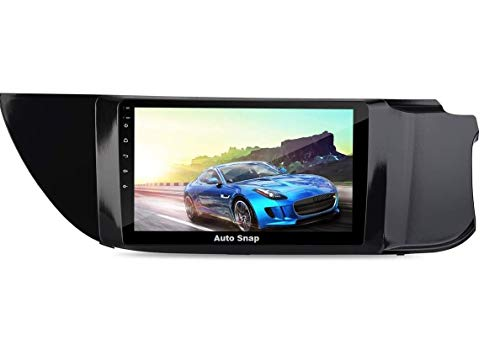 Auto Snap 9 Inch Full HD 1080 Touch Screen Double Din Player Android 10.1 Gorilla Glass IPS Display Car Stereo with GPS/Wi-Fi/Navigation/Mirror Link Compatible for Alto k-10 2015