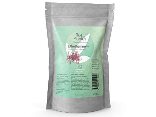 Rue Des Plantes - Lithothamne poudre 500g - une algue rouge, riche en calcium pour les articulations.