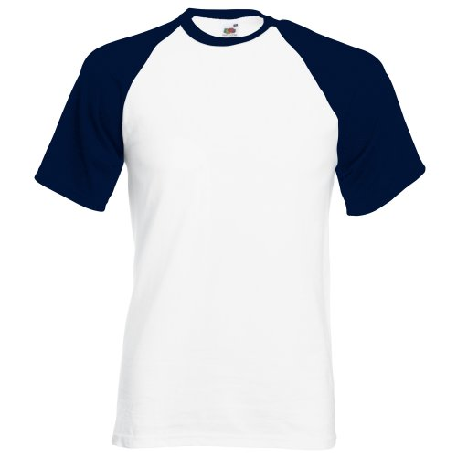 Fruit of the Loom SS008M, Camiseta Para Hombre, Blanco (Whit