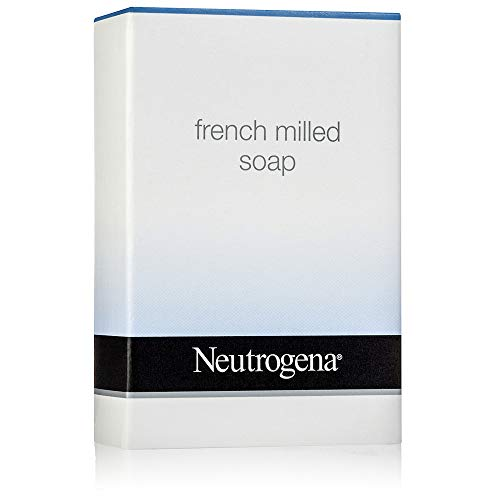 Neutrogena French Milled Soap. Lot of 22 each 1.25 oz Bars. 27.5oz Total