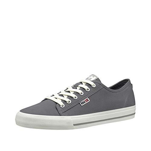 Helly Hansen Fjord Canvas V2, Sneaker Uomo, Grigio (Charcoal/New Light Grey 964), 40 EU