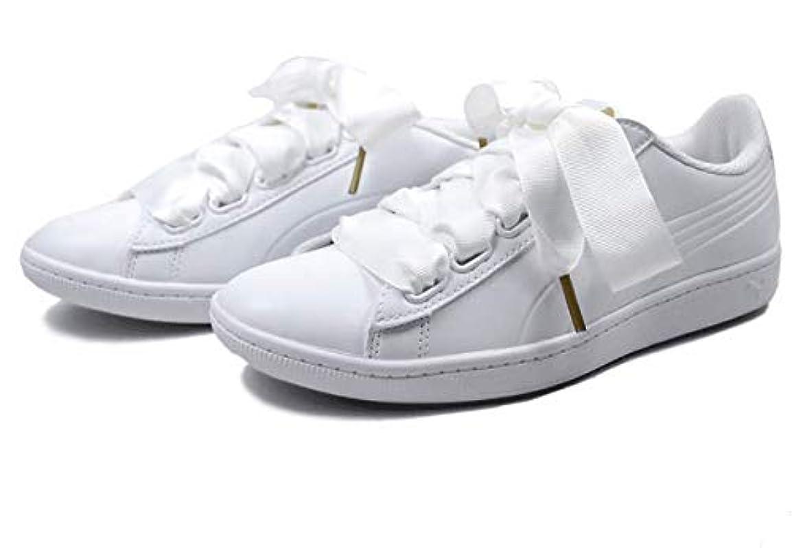 技術者ウミウシ子豚[プーマ] VIKKY RIBBON SL 366088-02 SIZE:23.0cm COLOR White White