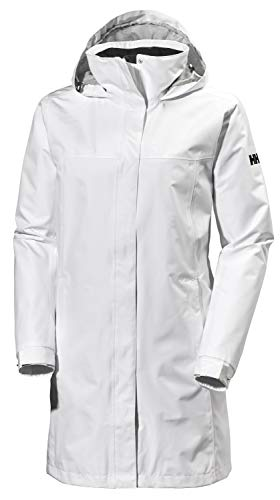 Helly Hansen 62648, Giacca Impermeabile Donna, Bianco, XS