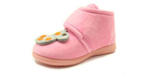 GRÜNLAND junior , Mädchen Hausschuhe Pink rosa -, Pink - rosa - Größe: 30