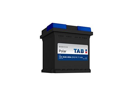 TAB Batterie Voitures Polar S Démarrage P45 L0 12 V 45AH 400 AMPS (EN)