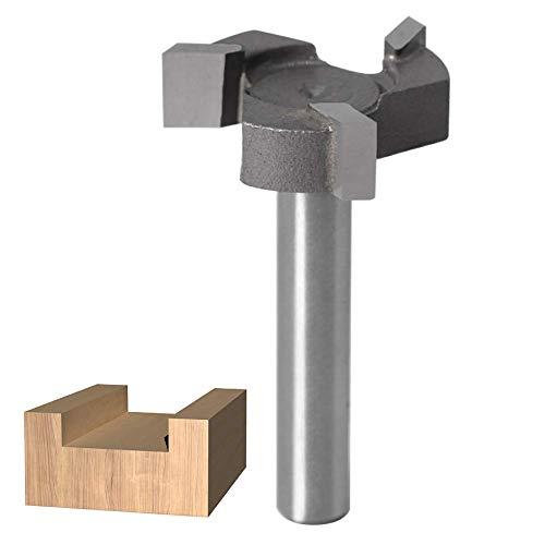 WSOOX 6mm Schaft Reinigung Fräser, Hartmetall-Spitze, Reinigung am Boden, Oberfräser für Handarbeit oder Holzbearbeitung