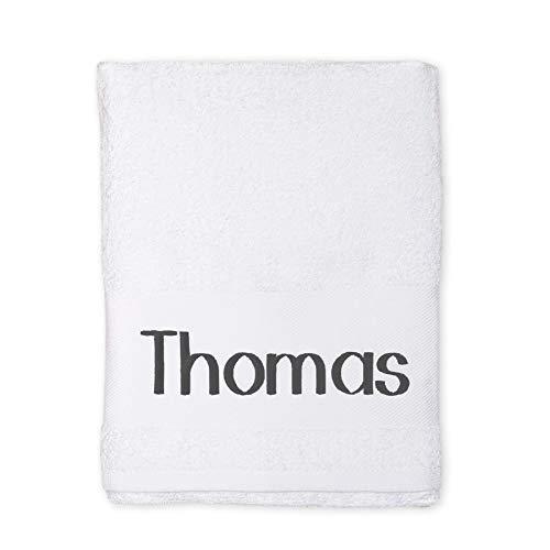 Handdoek borduren - Wit