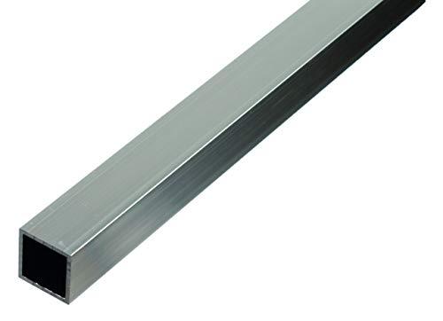 GAH-ALBERTS 472863 Tubo quadrato | alluminio, naturale | 1000 x 25 x 25 mm