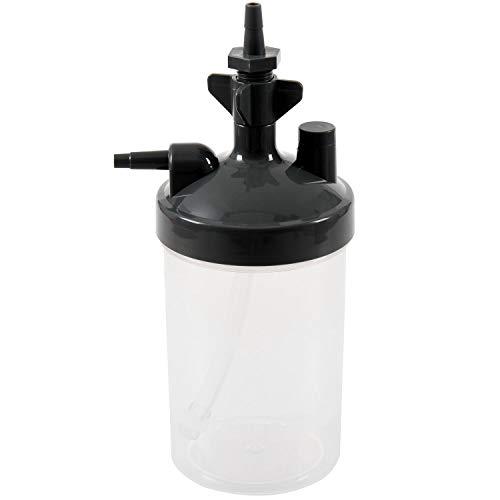 Tiamu Water Botella Humidificador para Concentrador De Oxígeno Humidificador Concentrador De Oxígeno Botella Humidificador Botellas Generador De Oxígeno Accesorios
