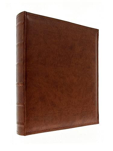 Álbum fotográfico clásico Luxury 100 páginas (marrón)