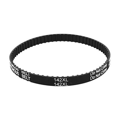 ZXYAN Rubber Industrial Zahnriemen 142XL 037 71T 9.5mm Breite 5,08 mm Pitch