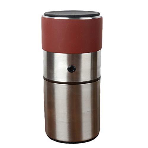 ZQZQ Manuelle Kaffeemühle Langlebige Edelstahl-Gratmühle Kaffeemühle, die Lange gebraucht Wird