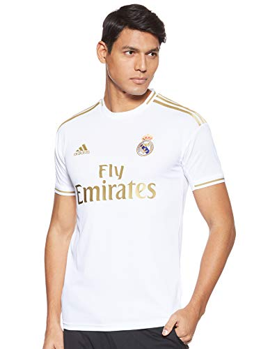 adidas Real Madrid 2019/2020 Camiseta, Hombre, Blanco (1ª Equipación), XL