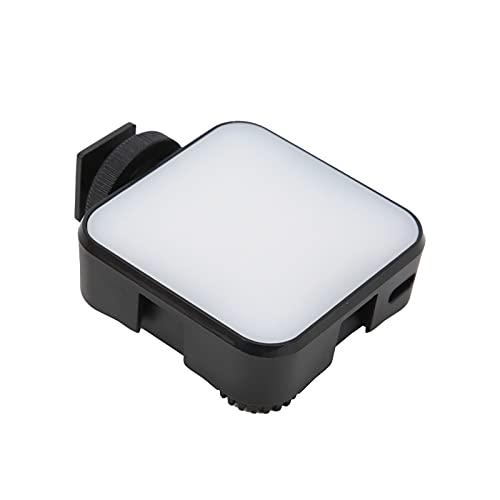 BOTEGRA Luz de Relleno LED Vlogging, Interfaz de Zapata Universal incorporada Batería de Alta Capacidad de 2000 mAh Mini luz de Relleno LED para Interiores para teléfono Inteligente