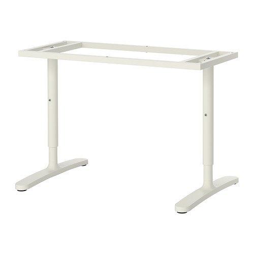 IKEA BEKANT - estructura inferior de la tapa de tabla, blanco - 120x80 cm
