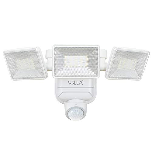 Outdoor Motion Sensor Light, SOLLA 750lm Wireless Battery Operated Outdoor Lights, 5000K Daylight Dimmable LED Flood Light, Waterproof Security Lights for Yard, Porch, Patio, Garage, 1 Pack