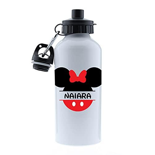 Kembilove Botella Agua Niños – Botella acero inoxidable Infantil Personalizada – Kembilove Botella Agua Niños – Botella acero inoxidable Infantil Personalizada – Regalos Personalizados Minnie