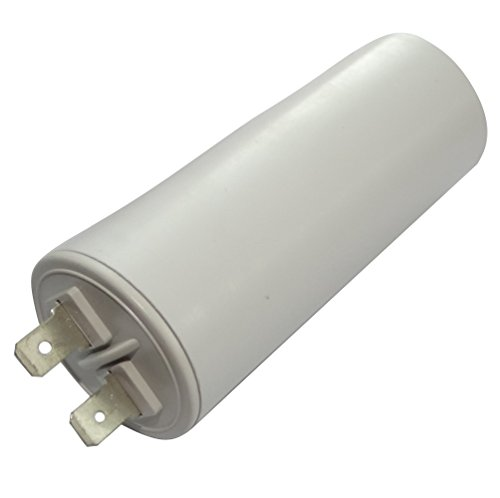 Aerzetix: Permanenter Arbeitskondensator für Motor 16μF 450V mit Laschen Ø35x83mm ± 10% 10000h C18752