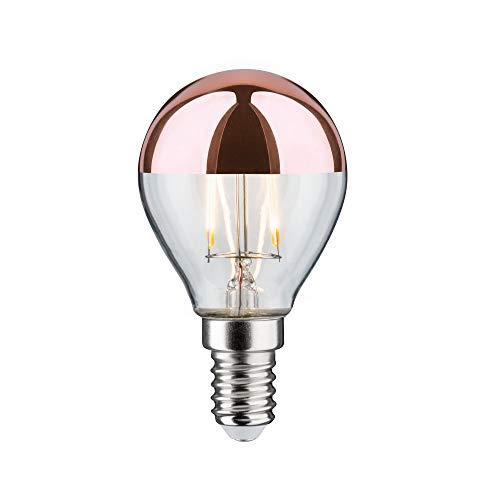 Paulmann 28455 LED Lampe Tropfen 2,5W E14 230V Kopfspiegel Kupfer Warmweiß Leuchtmittel