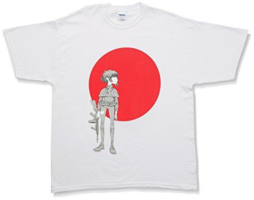 Noodle Sun Herren T-Shirt Gr. S, weiß