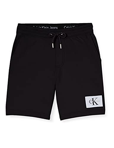 Calvin Klein Jeans HOMEROS 3 Slim Shorts Pantalones Cortos, CK Negro, 54 para Hombre