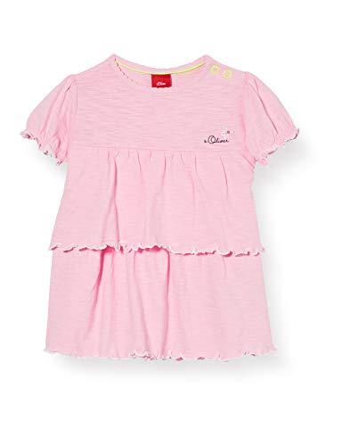 s.Oliver Junior Baby-Mädchen T-Shirt, 4145 Puder pink, 80