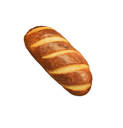 Unbekannt DS 40cm Brot als Deko-Kissen oder witziges Party-Geschenk Laib Bäcker