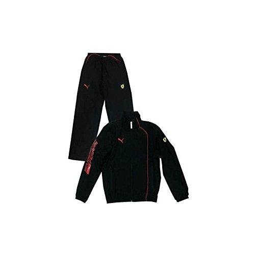 Ferrari Trainingsanzug Sport Kind Schwarz, Kinder, 8 Jahre