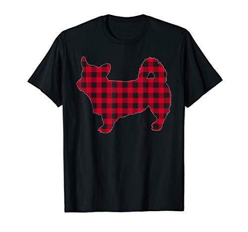 Red Plaid Pembroke Welsh Corgi Dog Lover Christmas Pajama T-Shirt