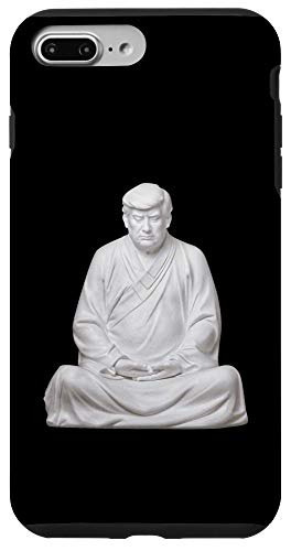 iPhone 7 Plus/8 Plus Chinese Style Trump Buddha statue Zen Funny Case