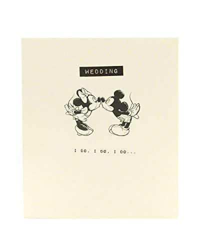 Geburtstagskarte für Kinder Minnie & Mickey - Hochzeit