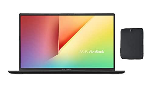 2021 Asus Vivobook X512JA 15.6' FHD Premium Laptop, 10th Gen Intel Quad-Core i7-1065G7 Upto 3.9GHz, 8GB RAM, 256GB PCIe SSD Boot + 1TB HDD, Card Reader, Windows 10 Home + Woov Laptop Sleeve
