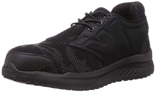 [オタフクテブクロ] 安全靴 スニーカー JSAA A種 先芯入 ワイドウルブズニット スリップオン メンズ 迷彩 26 cm