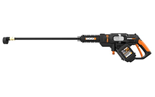 WORX WG644 40V (2.0Ah) Power Share Hydroshot Portable Power Cleaner, 2 Batteries and Charger Included (Renewed)
