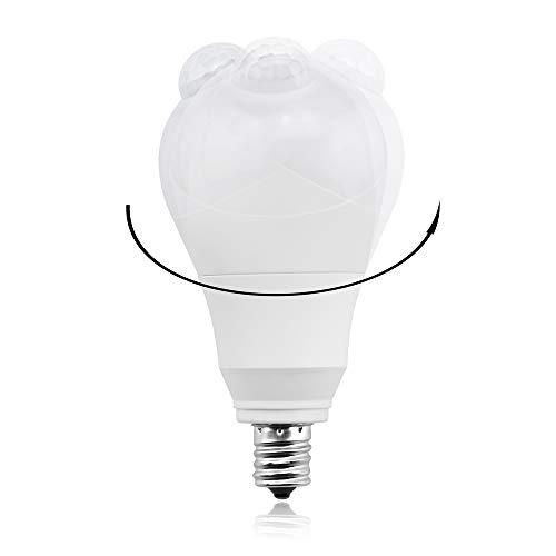 LUX-LED『人感センサー電球(LUX0544-7W-CWx2)』