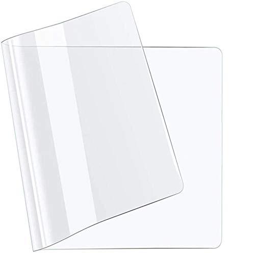 Redondo Protector PVC para mesas de Cocina,Protector de Mesa de Material Impermeable Transparente,mesas de Comedor, Mantel, Mesa de Escritorio(50x170cm/19.69x66.93in)