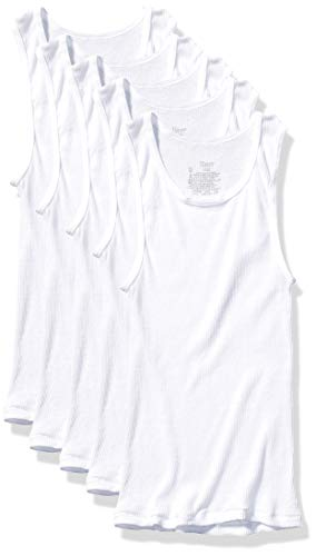 Hanes Boys' Tank, White, X Small