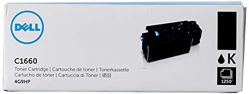 Dell C1660W Standard Capacity Black Toner - Kit ca. 1.250 Seiten