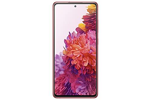 Samsung Galaxy S20 FE 5G, Android Smartphone ohne Vertrag, 6,5 Zoll Super AMOLED Display, 4.500 mAh Akku, 128 GB/ 6 GB RAM, Handy in Rot inkl. 36 Monate Herstellergarantie [Exklusiv bei Amazon]