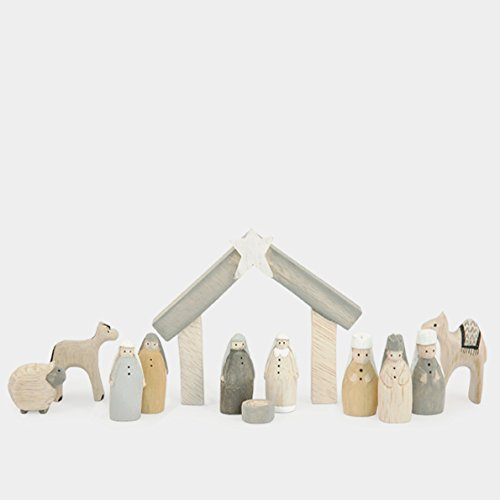 Natural Little Boxed Nativity Set