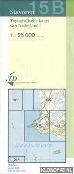 Topografische kaart van Nederland: Stavoren nr. 15B - 1:25000